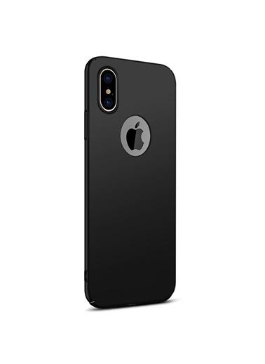 Microsonic iPhone X Kılıf Premium Slim  Siyah